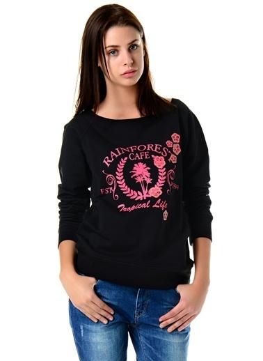 Loox Sweatshirt Siyah